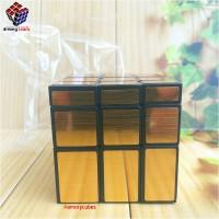 Rubik Mirror Magic Cubes GOLD KEMASAN PLASTIK