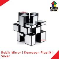 Rubik Mirror Magic Cube SILVER KEMASAN PLASTIK