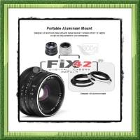 Lensa 7artisan 25mm F1.8 APS-C Micro Four Thirds Olympus Panasonic.