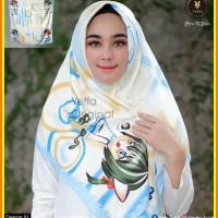 Jilbab motif kartun design 01