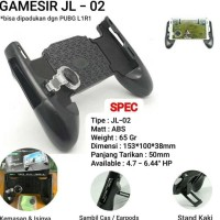 BARANG TOP GAMESIR JL02 NEW GAMEPAD HANDGRIP PUBG GAME HOLDER MOBILE