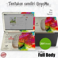 "Garskin Full Body/Laptop/Skin Laptop 10"" - 15"" Custom Gambar Sendiri"