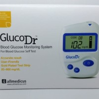 Alat Cek Gula Darah GlucoDr / Gluco Dr / Biosensor / Korea/TANPA Strip