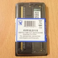RAM Laptop 8GB PC3L-12800 DDR3 1600 Kingston Samsung Hynix Sodimm
