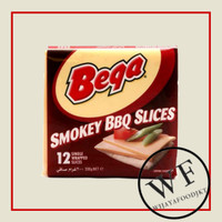 Bega Smokey BBQ Slices 200g   Keju Slices