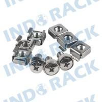 INDORACK - M06 Cage Nut adn Screw