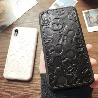 CASE IPHONE 6+ / 6S+ MICKEY MOUSE KULIT