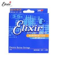 Senar Gitar Elektrik (011-049) Elixir Nanoweb Medium 12102