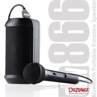 Speaker Karaoke Mini Portable 2 in 1 Dazumba DW866