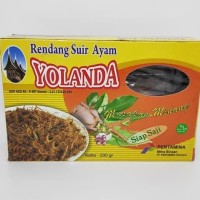 Rendang Suir Daging Ayam Yolanda