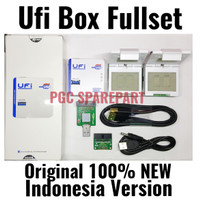 NEW UFi Box Indonesia Version - 100% Original Fullset IC EMMC Tools