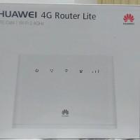 WIFI + ROUTER HUAWEI B311 4G LTE UNLOCK FREE QUOTA 14GB GARANSI RESMI