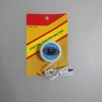 Termometer kulkas digital dengan magnet refrigerator thermometer