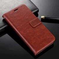 flip wallet leather case casing dompet kulit Vivo V 9 v9