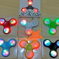 Fidget Spinner Lampu - Fidget Spiner Led - Spinner Nyala - Mainan