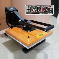 MESIN HOT PRESS KAOS 38x38 Alat Heatpress Pemanas Sablon Baju Polyflex