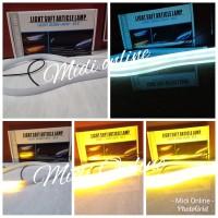 Lampu Led Alis Fleksibel Strip Running Sein Plus Drl 30 Cm Mobil Motor