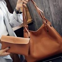 Tas Import Wanita Shoulder Bag Model Zara Unbrand Ts 10 Choco