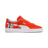 Sepatu Sneakers anak-anak Puma Sesame Street Suede orange - 368924-02