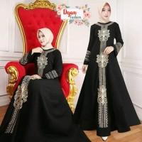 baju wanita / gamis Saudi bahan jetblack / Jubah wanita