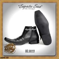 C37 sepatu kerja pdh dinas kantor formal casual kulit pdl pantofel