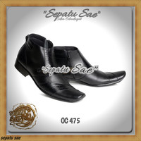 C10 sepatu kerja pdh dinas kantor formal casual kulit pdl pantofel
