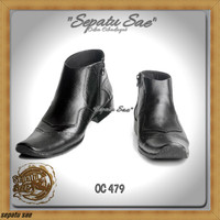 C12 sepatu kerja pdh dinas kantor formal casual kulit pdl pantofel