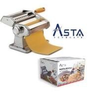 Asta Gilingan Mie Manual Stainless Pasta Maker Stainless Mesin Pembua