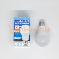 Lampu Led Sensor Gerak Motion Sensor 9w 9 Watt Hannochs Bergaransi