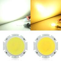 Top Brand 9W Round COB LED Bead Chips For Down Light Ceiling Lamp DC