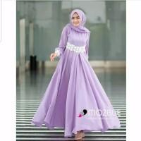 Baju Gamis Wanita Muslim Syari Maxi Dress Jubah Cewek Muslimah Murah