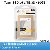 Team SSD L5 Lite 3D 480gb SATA 3.0 6gbps