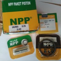 Piston/Seher Kit NPP Absolute Revo/Blade Old Over Size 125/150/175/200