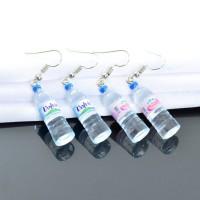 NEW Anting Tusuk Bentuk Botol Air Mineral Kreatif Lucu