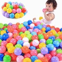 Hrgapromo 10pcs Quality Secure Baby Kid Pit Toy Swim Fun Colorful Sof