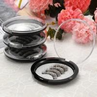 Hrgapromo 3 Magnet Bulu Mata Palsu 3D Handmade dengan Magnet