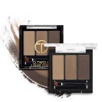 termurah OTWOO Palet Eyebrow Powder 3 Warna Anti Air