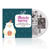 termurah Beautybigbang Stempel Nail Art Bentuk Bulat Natal
