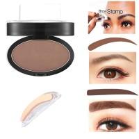 NEW Eyebrow Powder Anti Air Warna Hitam Coklat dengan Cap Stamp