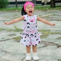 Setelan Anak Lengkap | Setelan Casual | Baju Santai Anak | YURA SET