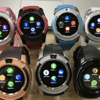 Smartwatch / smart watch v8 android bluetooth sim card bukan u9/u10
