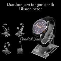 Stand Jam Tangan Dudukan Jam Tangan Lingkar Besar Holder Jam Akrilik