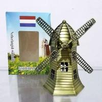 Miniatur Pajangan Kincir Windmills Belanda Holland Tipe A