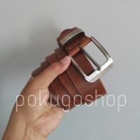 premium pull up leather belt / sabuk kulit asli premium pull up