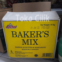 bakers mix/anchor/repack 500gr/butter/margarine/mentega/all in one/kue