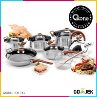 OXONE Eco Cookware Set Alat Masak 12 + 2 Pcs - Panci Set - OX 933