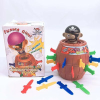 MAINAN MINI JUMPING PIRATE / MAINAN TONG BAJAK LAUT/FAMILY GAMES