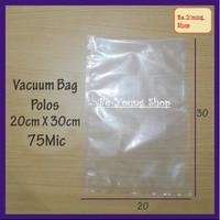 Vacuum Bag 20X30 75 Micron @100 Pcs