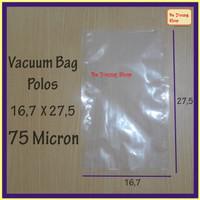 Vacuum Bag 16,7X27,5 75 Micron @100 Pcs