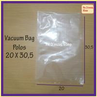 Vacuum Bag 20X30,5 75 Micron @100 Pcs